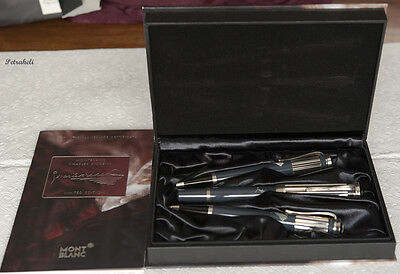 Montblanc Charles Dickens Limited Edition 3 Pen Set