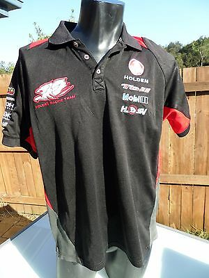 2 X Official Holden Racing Team HRT Team Polo Red + Black  Size L       S0130