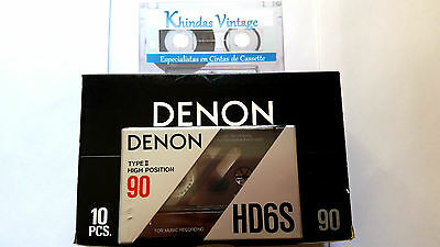 CASSETTE TAPE BLANK SEALED - 1 x (one) DENON HD6S 90 [1990] - MADE IN JAPAN