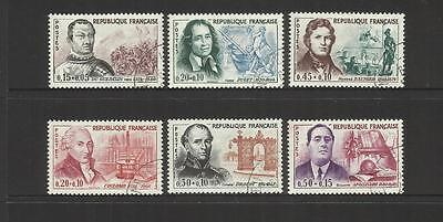 France ~ 1961 Red Cross Fund Set (Used) Personalities