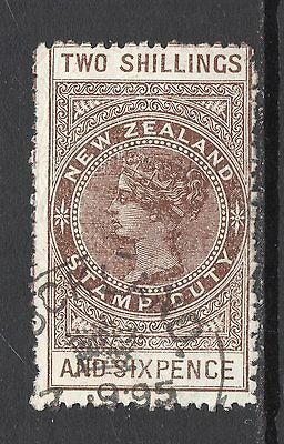 New Zealand SC #AR2 used Postal-Fiscal stamp