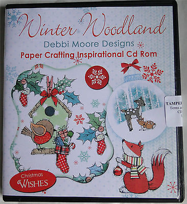 Winter Woodland Paper Crafting CD Rom