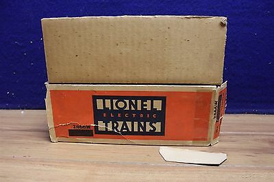 Lionel Post War O 2466W Tender Original Box With  Large Insert 520055