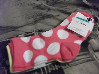 Marks And Spencer Girls Socks Brand New Rp£6 Size 3-6 Years
