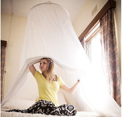 Mosquito dome Net fly insect Protection curtain For Single Double king Size Bed