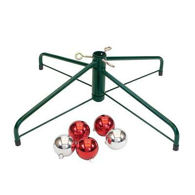 NEW National Holiday Traditions Folding Artificial Christmas Tree Stand 95-2464