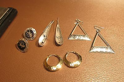 Fabulous Lot of Antique/Vintage Sterling Silver Jewelry Scrap/Use 34.30g