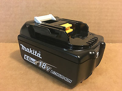 Genuine Makita BL1860B 18V 108Wh 6.0Ah Lithium Ion Battery with LED Gauge