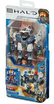 Mega Bloks Halo Sector 12 Police Cyclops Building Blocks Brand New In Box Cnf17