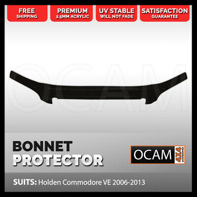 OCAM Bonnet Protector For Holden VE Commodore Tinted Guard