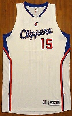 Authentic Adidas Hedo Turkgolu Los Angeles Clippers Game Issue Jersey Sz 3Xl Nba