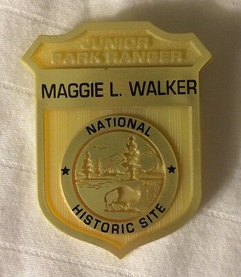 Maggie Walker Junior Ranger Badge National Park