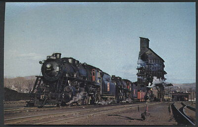 Central Vermont Consolidations Postcard 469 471 St. Albans Coaling Railroad