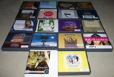 Lot of 18 Teen/Young Adult Unabridged Fiction Audiobooks on CD