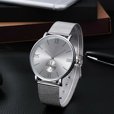 New Vogue Women Casual Watch Silver Stainless Steel Analog Quartz WristWatches