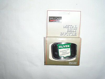 Oliver Tractor  Advertising Metal Belt Buckle AGCO