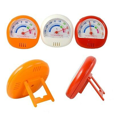Folding Stand & Gauge Dial Handy Mini Fridge Freezer Thermometer