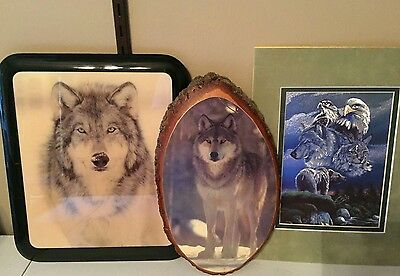 Wolves Decor Collection Lot