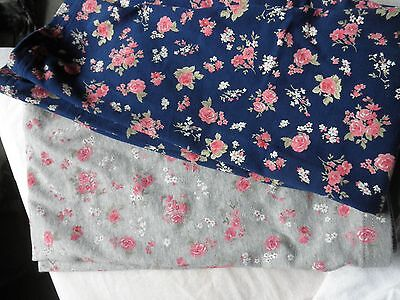 2 Girls The Children's Place Floral Print Leggings, size 10/12 FREE SHIPPING