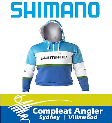 Shimano Retro Hoodie Large BRAND NEW At Compleat Angler