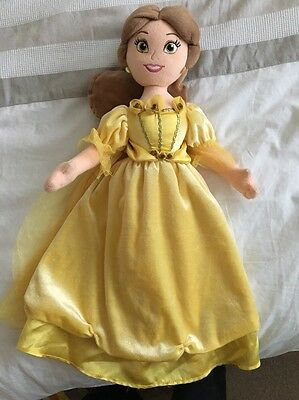 Disney Store Belle Beauty & The Beast Soft Toy