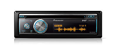 Pioneer DEH-X8700DAB Car stereo with DAB+ tuner, CD, USB and Bluetooth