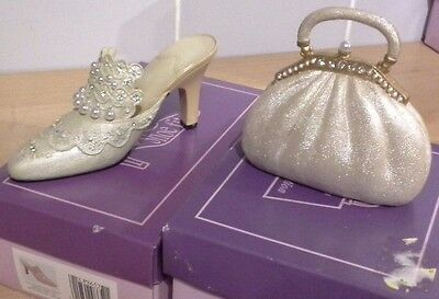 The Leonardo Collection Bags Of Distinction If The Shoe Fits White