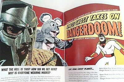 Danger Mouse Filter Magazine MF Doom Danger Doom Mouse and the Mask Space Ghost