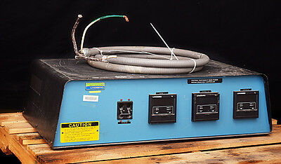 Lindberg General Signal 59744-A Tube Furnace Laboratory Oven Controller Unit