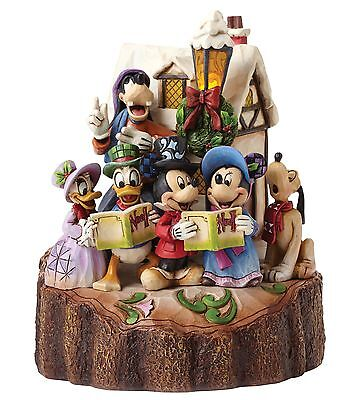Disney Traditions Holiday Harmony Mickey And Friends Lightup Figure 18cm 4046025