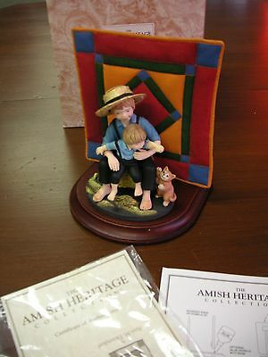The Amish Heritage Collection by Willits Eli & Benjamin #30013 Good Cond in box