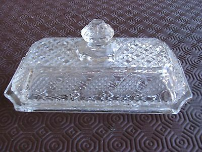 Studio Nova Glass Butter Dish With Lid