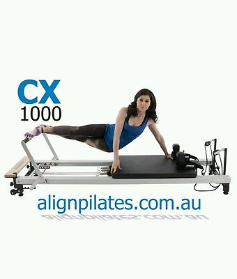 Align-Pilates CX-1000 Reformer (Includes FREE Asessories)