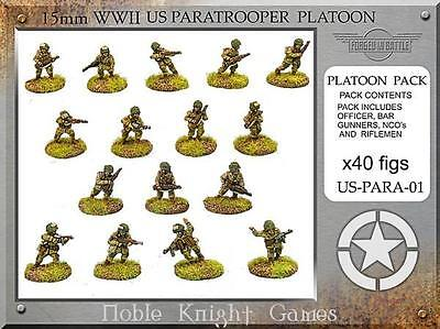 FIB WWII Mini 15mm Paratrooper Platoon Pack MINT