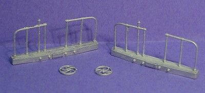 On30 WISEMAN MODEL SERVICES BACHMANN PASSENGER CAR REPLACEMENT END BEAMS