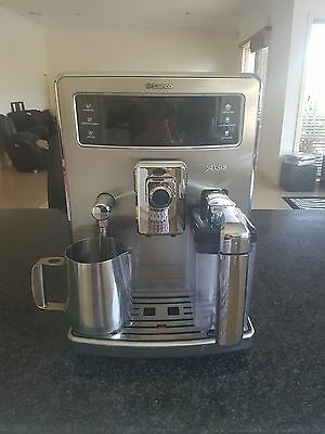 Saeco Xelsis 14 Cups Espresso Machine - Stainless