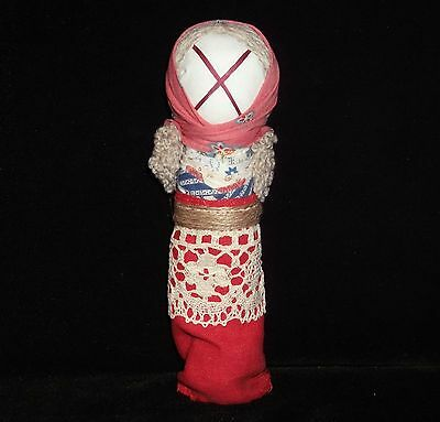 "Handmade Scythian-Sarmats-Slavic Charm-Amulet Big Doll Motanka ""On Marriage"""