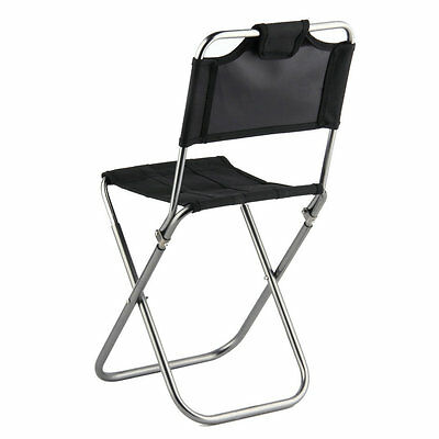 Portable Folding Aluminum Oxford Cloth outdoor Fishing Camping backrest chair SM
