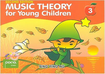 Music Theory for Young children Book 3 YING YING NG POCO STUDIO PS3525 NEW