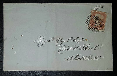 GB QV COVER 1850 1d red Imperf. G-K (No652)