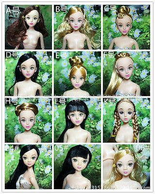 Modern Barbie Dolls with 12 Joint Body+Head Great Girls Kids Gift 5pcs Wholesale