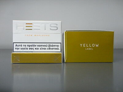 IQOS HEETS Yellow Label 10 Pack Balanced Blend