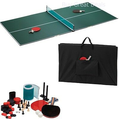 Portable Ping Pong Indoor Outdoor Tennis Table Top Set - NEW