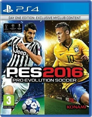 PES 2016 PS4 - DAY ONE EDITION ITALIANO -  playstation 4