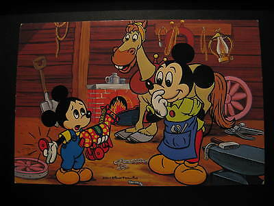 Vintage Walt Disney Production Postcard...Mickey Mouse...