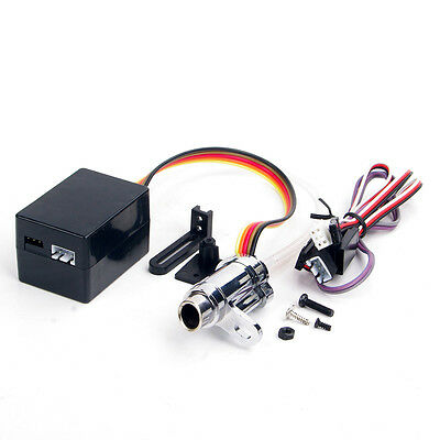Electronic Simulation Smoking Exhaust Pipe Alum For 1:10 Scale RC Car