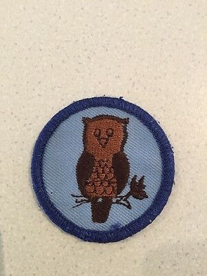 Owl Patrol Scout Badge