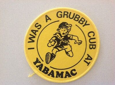 YABAMAC Camp Scout Badge - Large