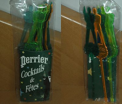 Rare mélangeur à cocktail james bond 007 / Perrier 1995 / Stirrer cocktail