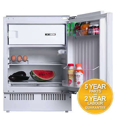 SIA RFU102 117L Built In Under Counter Fridge With Ice Box A+ Rating